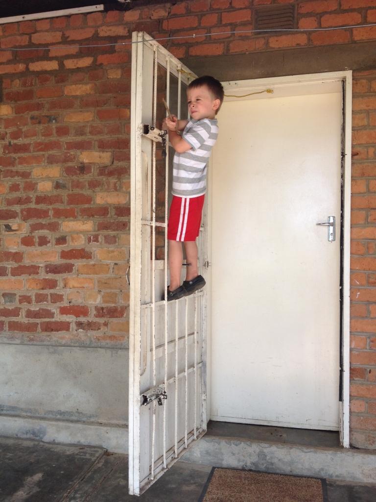 Climbing doors