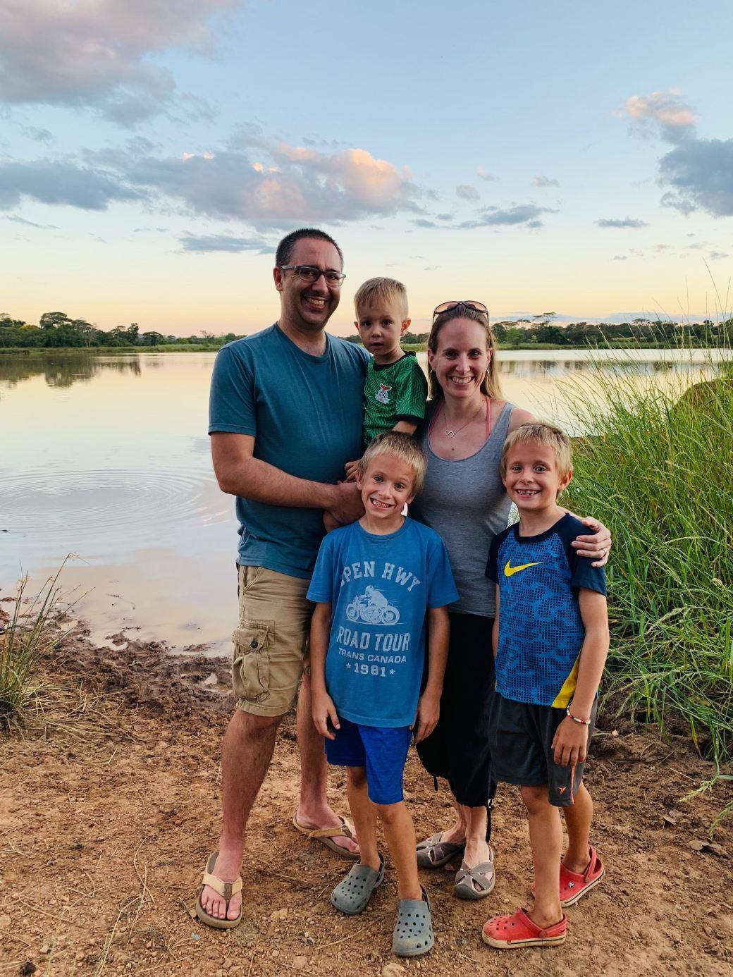 Family Dam Shot